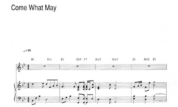 Come What May Air Supply Pdf Free Piano Sheet Music